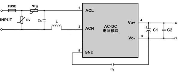 微功率ac-dc电源模块在待机电源方面的应用