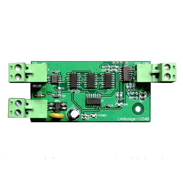 can 收发器(型号:pca82c250),支持5kbps~125kbps 之间通讯速率的互转.