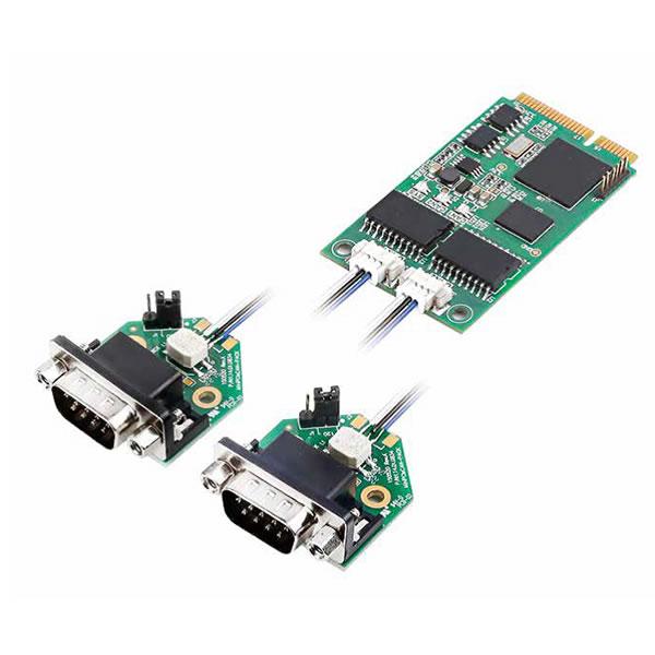 可以非常方便地安装在带有minipcie接口的在笔记本电脑或工控电脑上