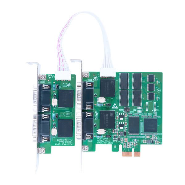 pc机可以通过pcie接口连接至can网络